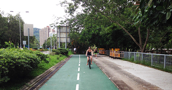 Cycling Tai Po