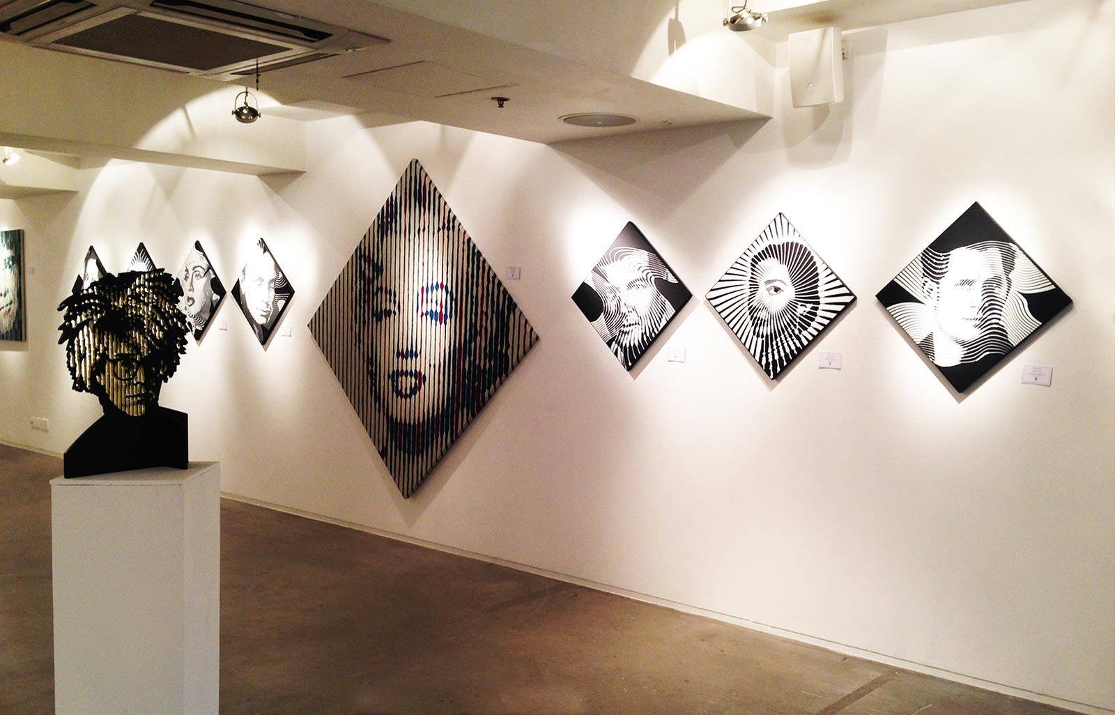 OP'ART EXPERIENCE: solo exhibition of the artist Marcos Marin in Hong Kong